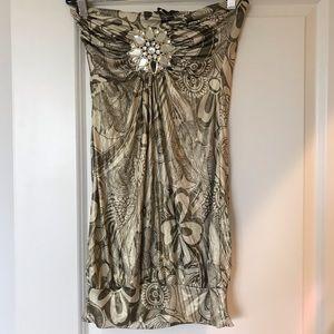Women's designer Sky dress